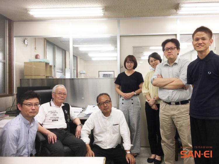 三栄コーポレーションリミテッドの社員