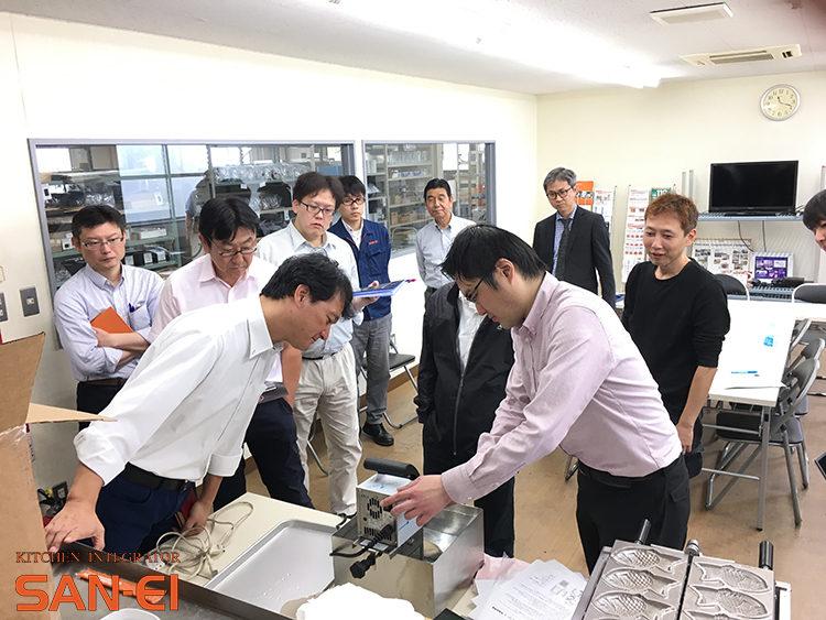 三栄コーポレーションリミテッドのテストキッチン